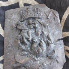 Arte: ANTIGUA PLACA, FALLA ENSENDRA, PLAZA COLL DE 1947. Lote 210098000