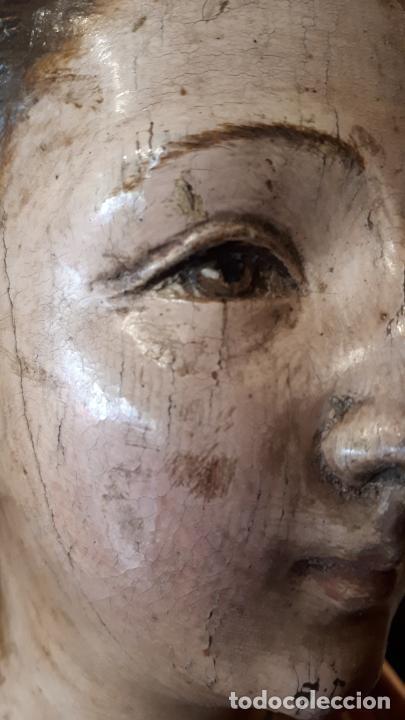 Arte: STA. CATALINA DE ALEJANDRÍA. TALLA S. XVII - Foto 11 - 210118143