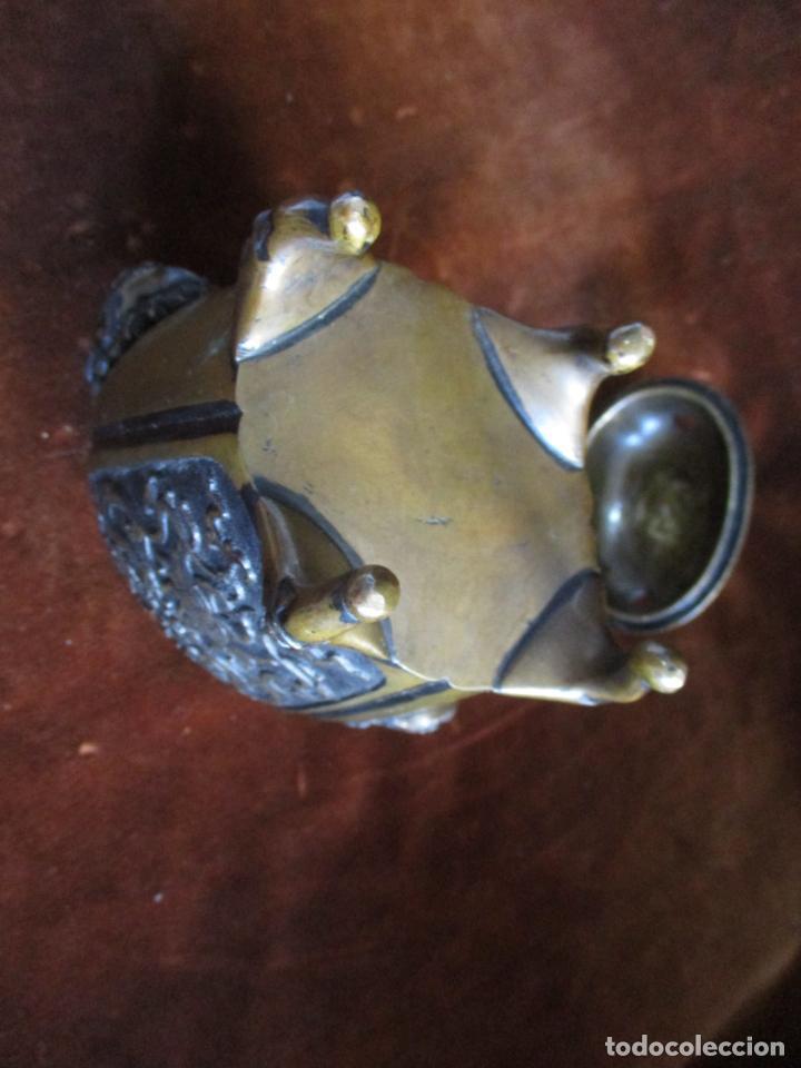Arte: inciensario chino en bronce siglo xviii - Foto 2 - 210454466