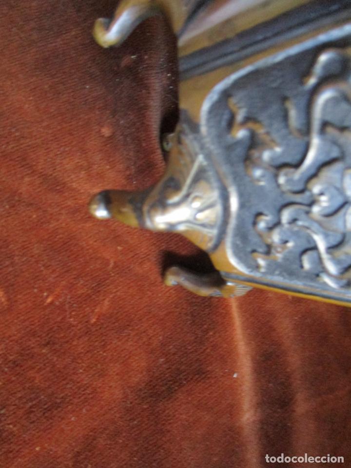 Arte: inciensario chino en bronce siglo xviii - Foto 10 - 210454466