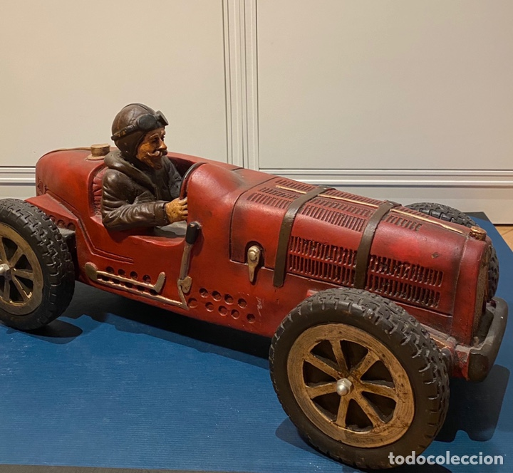 Arte: Figura resina coche antiguo 50 cm - Foto 2 - 210528161