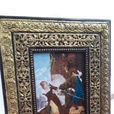 Arte: PLACA DE PORCELANA ESMALTADA S.XIX. Lote 211268374
