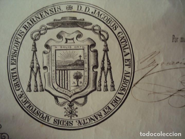 Arte: (ANT-200745)CAPIPOTA INMACULADA CONCEPCION - SIGLO XIX - CAPILLA - CORONA DE PLATA - CERTIFICADO - Foto 64 - 211414621