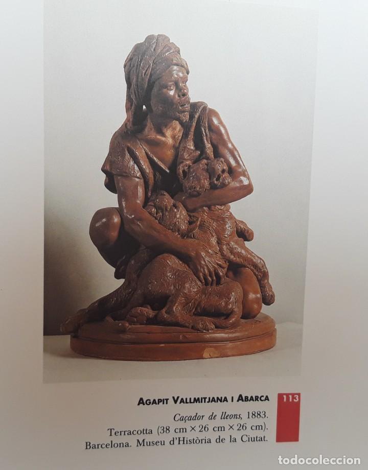 """Arte: Agapito Vallmitjana Abarca.""""Domador de leones"""". Antigua Terracota acabada con pátina de bronce.SXIX - Foto 13 - 211277272"""