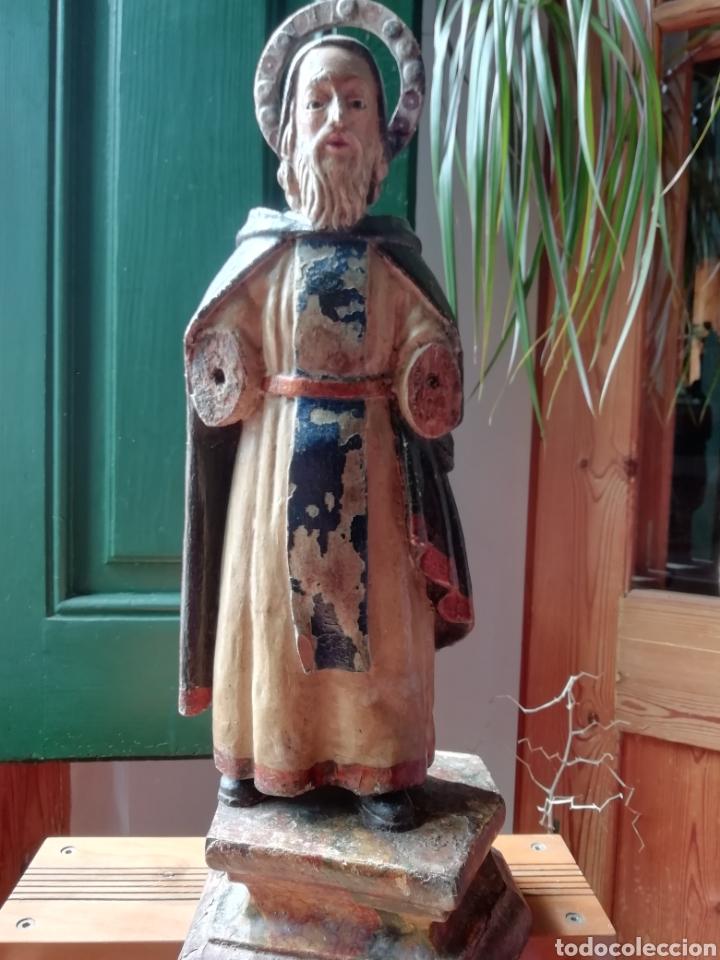 Arte: Talla de madera antigua - Foto 2 - 211983375