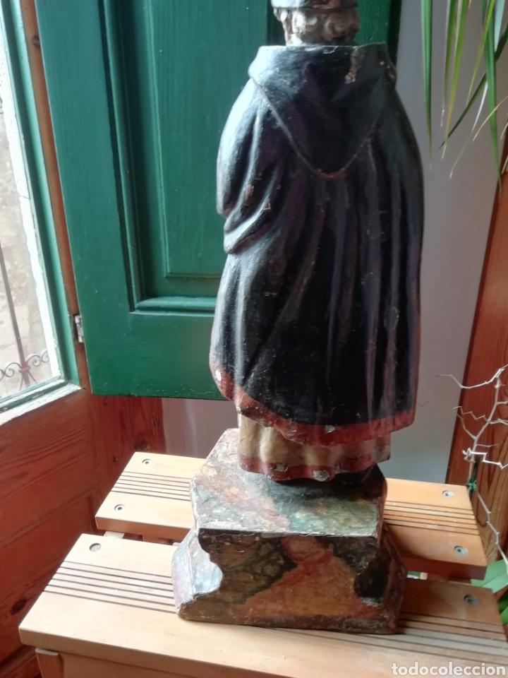 Arte: Talla de madera antigua - Foto 3 - 211983375