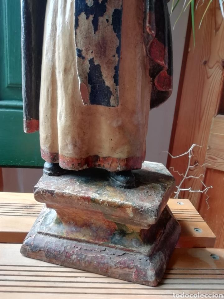 Arte: Talla de madera antigua - Foto 5 - 211983375