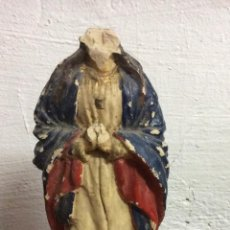Arte: VIRGEN RELIGIOSA,ESCULTURA EN TERRACOTA,FINALES SIGLO XVIII. Lote 212279038