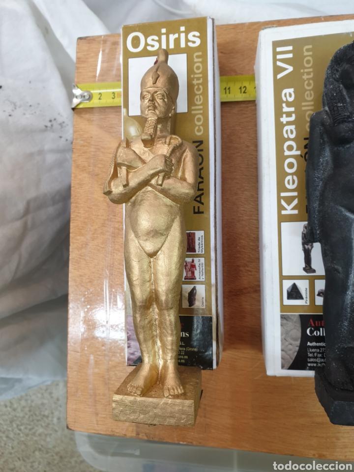 Arte: 3 figuras egipcias muy famosas, replicas de coleccterracota y resina. Envio gratuito. - Foto 2 - 213267283