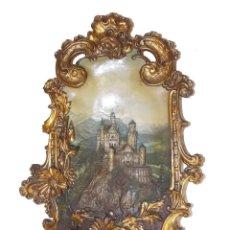 Arte: ANTIGUO RELIEVE EN TERRACOTA CASTILLO ALEMAN NEUSCHWANSTEIN WILHELM SCHILLER & SOHN. Lote 213337642