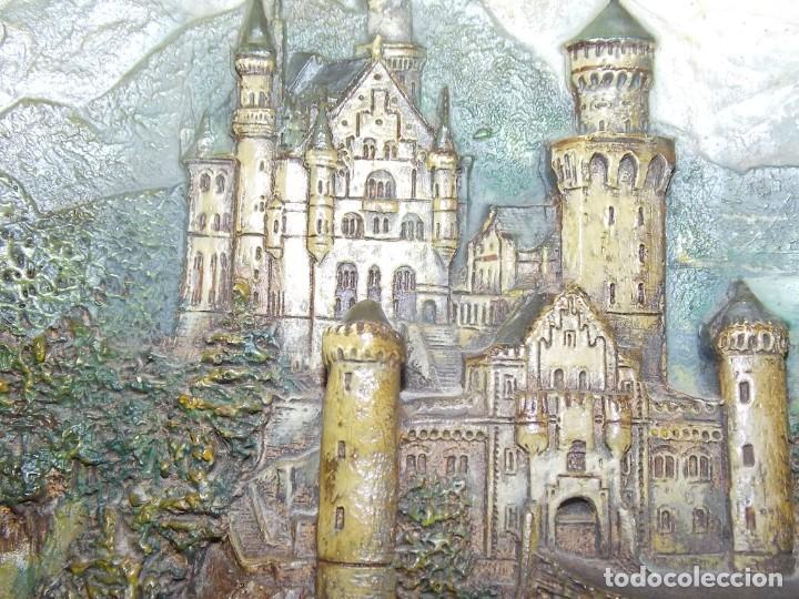 Arte: ANTIGUO RELIEVE EN TERRACOTA CASTILLO ALEMAN NEUSCHWANSTEIN Wilhelm Schiller & Sohn - Foto 10 - 213337642
