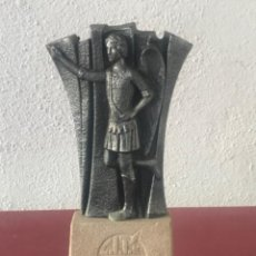 Arte: ESCULTURA DEL ÁNGEL TOBIES DE EL VENDRELL TARRAGONA.. Lote 213679413