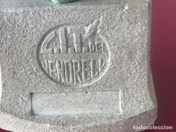 Arte: ESCULTURA DEL ÁNGEL TOBIES DE EL VENDRELL TARRAGONA. - Foto 3 - 213679413