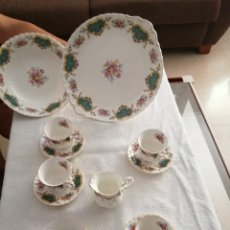 Arte: JUEGO DE TE ROYAL ALBERT BONE CHINA. BERKELEY. Lote 215794578