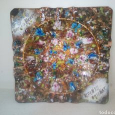 Arte: ANTIGUA OBRA DE ARTE, EN METAL, DE ALFONSO ENSENYAT. Lote 215797328