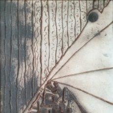 Arte: JOSEP VERGÉS GRAU (1925-1989) - DESPUÉS DEL FUEGO.FIRMADO.TITULADO.1982.. Lote 216593073