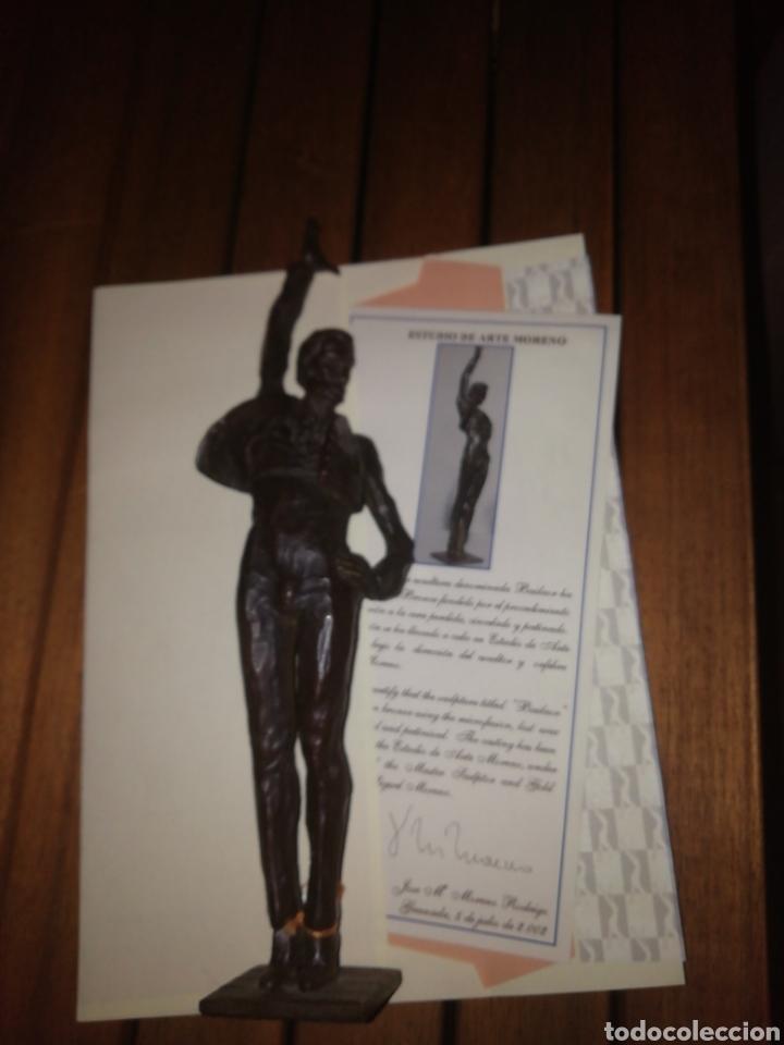 Arte: Figura de bronce BAILAOR - Foto 3 - 216736858
