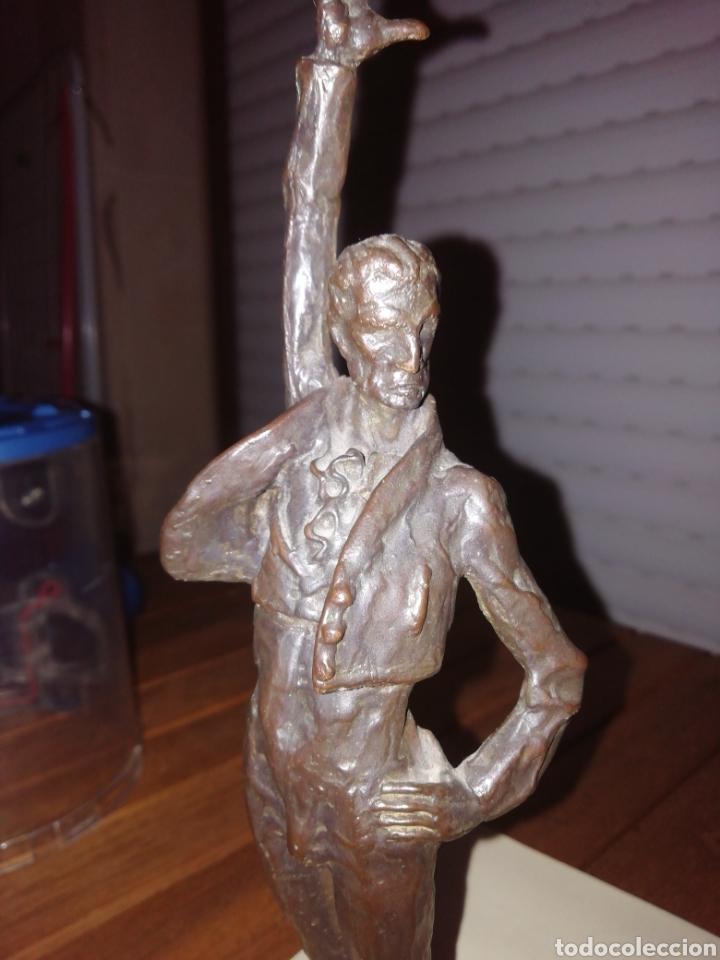 Arte: Figura de bronce BAILAOR - Foto 5 - 216736858