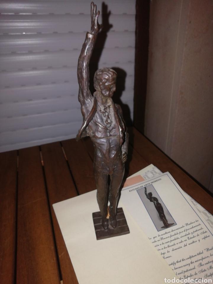 FIGURA DE BRONCE BAILAOR (Arte - Escultura - Bronce)