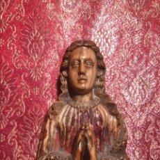 Arte: BONITA VIRGEN INDO PORTUGUESA DE GOA. BARROCO. INDIA. SIGLO XVII.. Lote 216936520