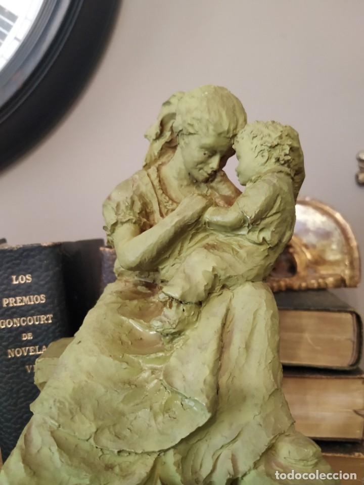 FIGURA MATERNIDAD JOSEP BOFILL (Arte - Escultura - Resina)