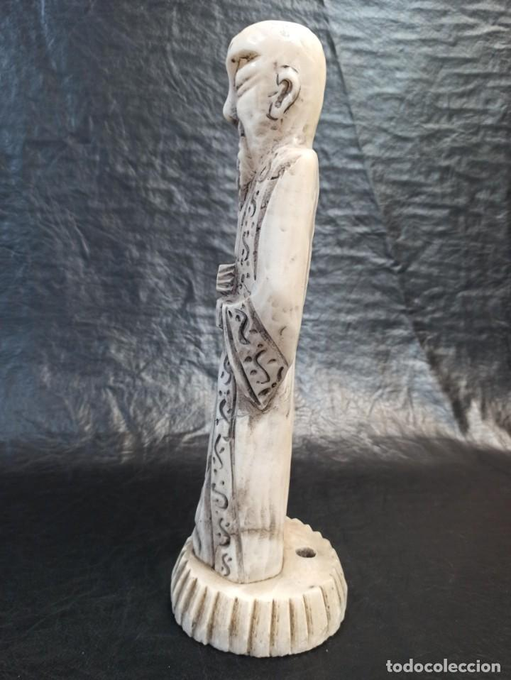 Arte: Escultura oriental. Alabastro. C25 - Foto 5 - 217216933