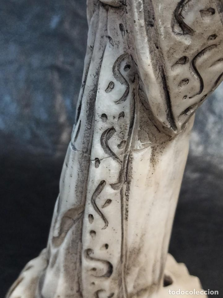 Arte: Escultura oriental. Alabastro. C25 - Foto 6 - 217216933