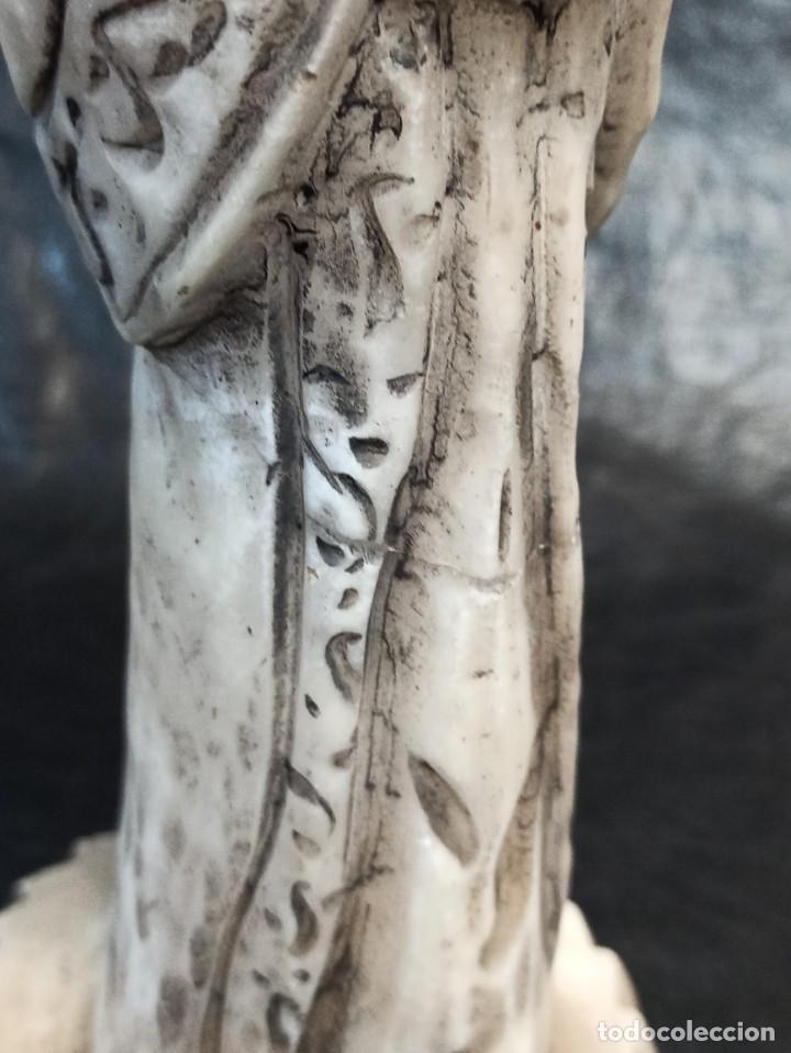 Arte: Escultura oriental. Alabastro. C25 - Foto 7 - 217216933