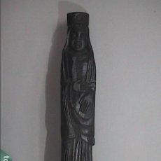 Arte: EXCELENTE TALLA EN MADERA. PRIMER TERCIO S.XX. PIRINEO CATALANO / ARAGONÉS. 69 CM.. Lote 217531875