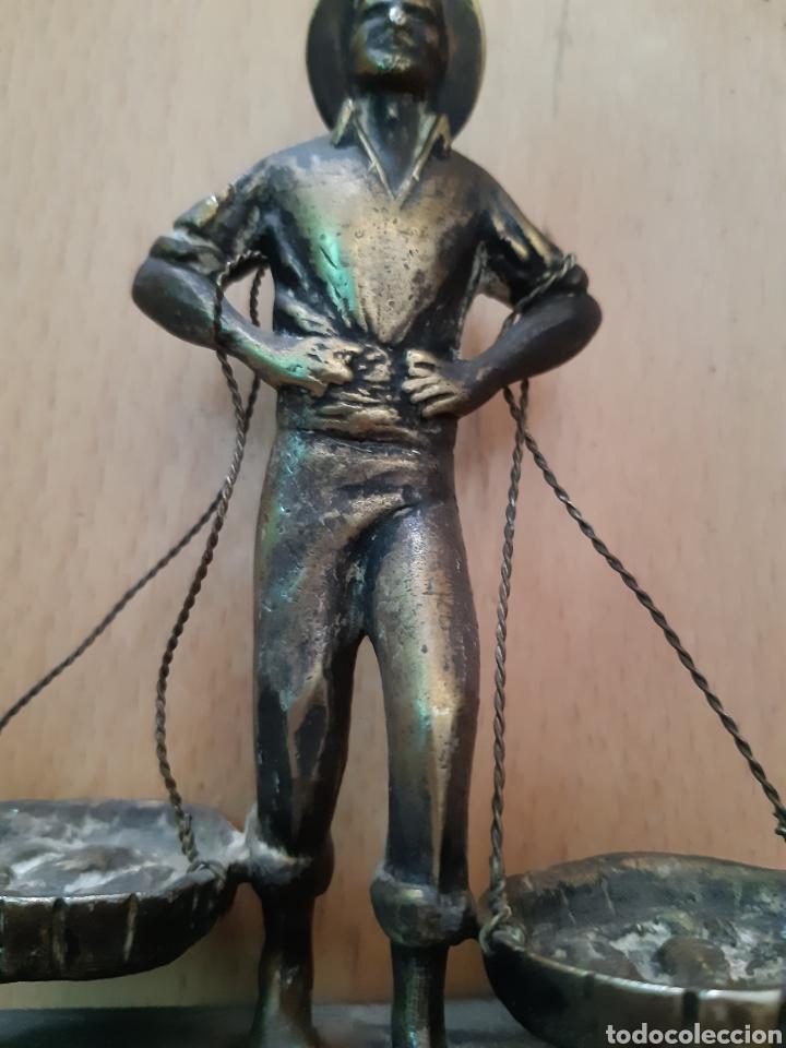 Arte: Figura Bronce y Marmol de Pescador Malagueño. Ver descripción - Foto 5 - 217910141