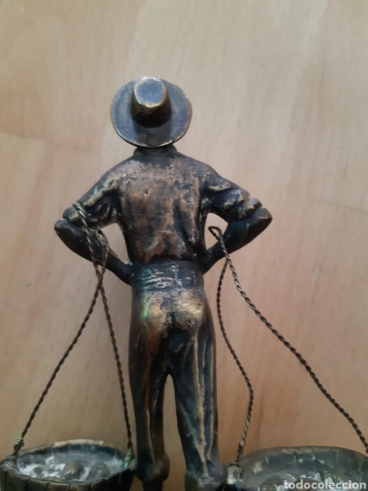 Arte: Figura Bronce y Marmol de Pescador Malagueño. Ver descripción - Foto 8 - 217910141