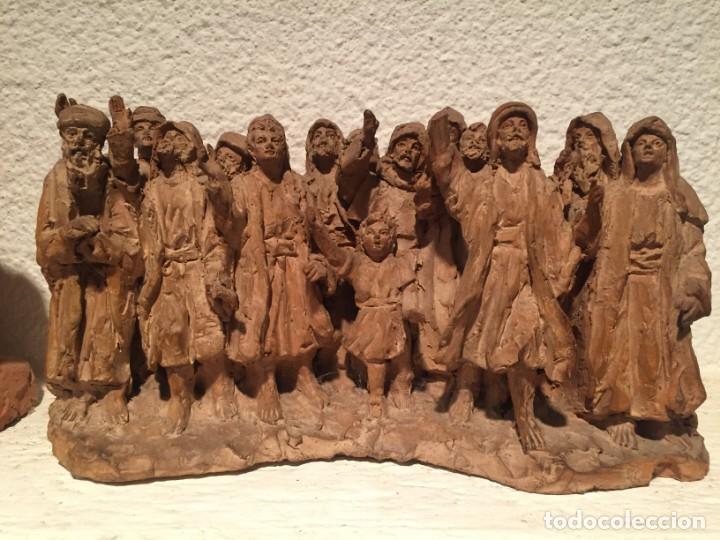 JULIÁ FABREGAS I DACHS (VIC 1886-1966). IMPORTANTE CONJUNTO ESCULTÓRICO (Arte - Escultura - Terracota )