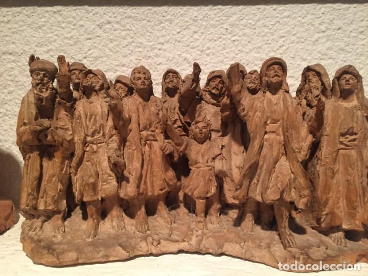 Arte: Juliá Fabregas i Dachs (Vic 1886-1966). Importante conjunto escultórico - Foto 3 - 217986415