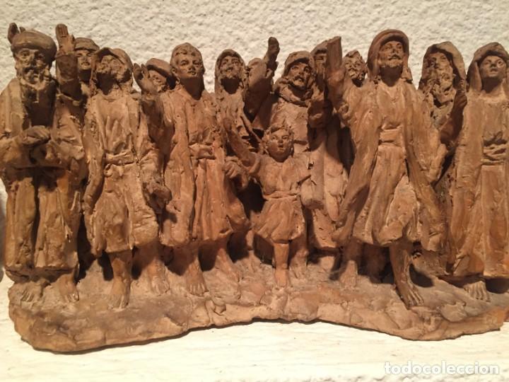 Arte: Juliá Fabregas i Dachs (Vic 1886-1966). Importante conjunto escultórico - Foto 5 - 217986415