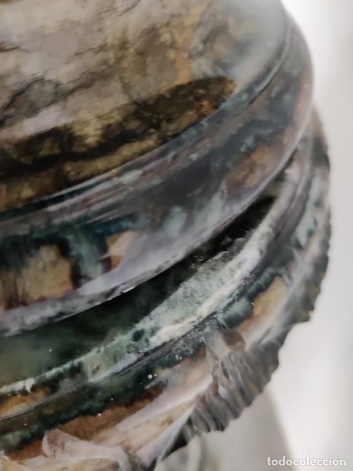 Arte: Cazador de Aguilas, escultra en resina con pedestal columna de mármol - Foto 5 - 218241897