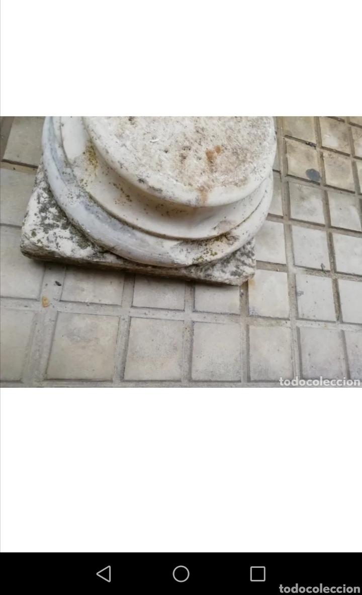 Arte: Antiguo capitel de mármol - Foto 3 - 218290452