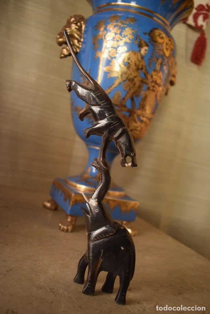Arte: Escultura en cuerno - Foto 4 - 218471103