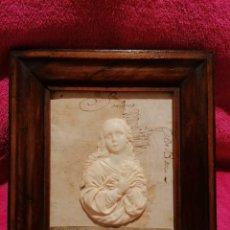 Arte: RELIEVE DE VIRGEN. SIGLO XVIII-XIX. Lote 218547057