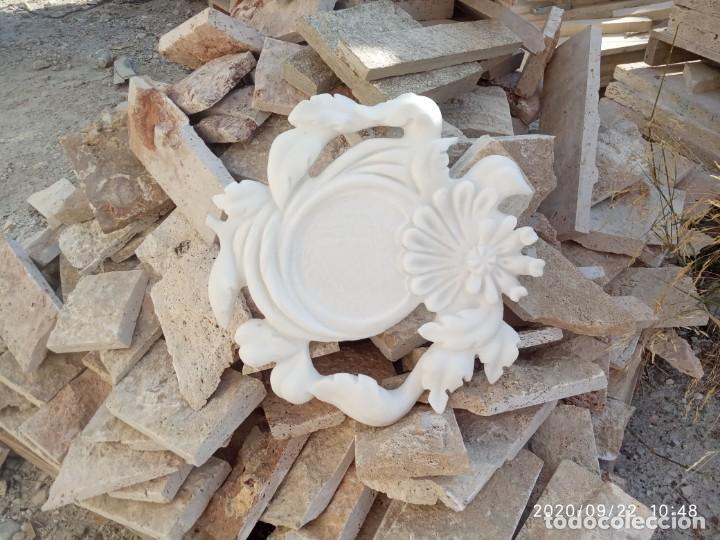 Arte: Plato con gran talla marmol Blanco Macael - Foto 2 - 218692580