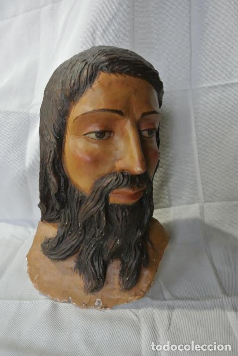 Arte: Cabeza, busto de imagen religiosa para paso de Semana Santa. San Juan Evangelista - Foto 2 - 218703163