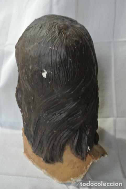 Arte: Cabeza, busto de imagen religiosa para paso de Semana Santa. San Juan Evangelista - Foto 8 - 218703163