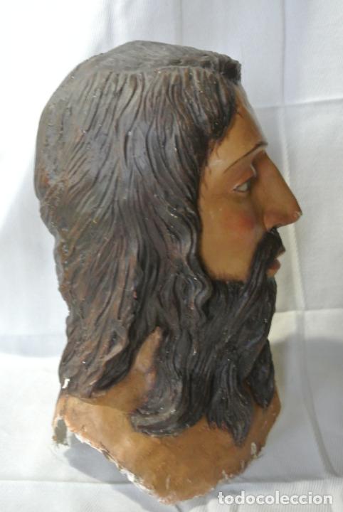 Arte: Cabeza, busto de imagen religiosa para paso de Semana Santa. San Juan Evangelista - Foto 9 - 218703163
