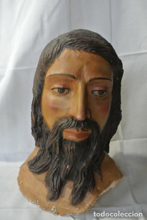 Arte: Cabeza, busto de imagen religiosa para paso de Semana Santa. San Juan Evangelista - Foto 10 - 218703163