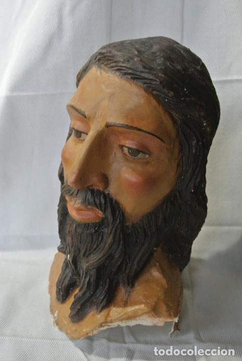 Arte: Cabeza, busto de imagen religiosa para paso de Semana Santa. San Juan Evangelista - Foto 11 - 218703163