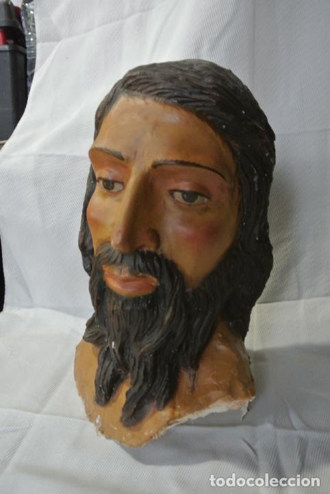 Arte: Cabeza, busto de imagen religiosa para paso de Semana Santa. San Juan Evangelista - Foto 13 - 218703163