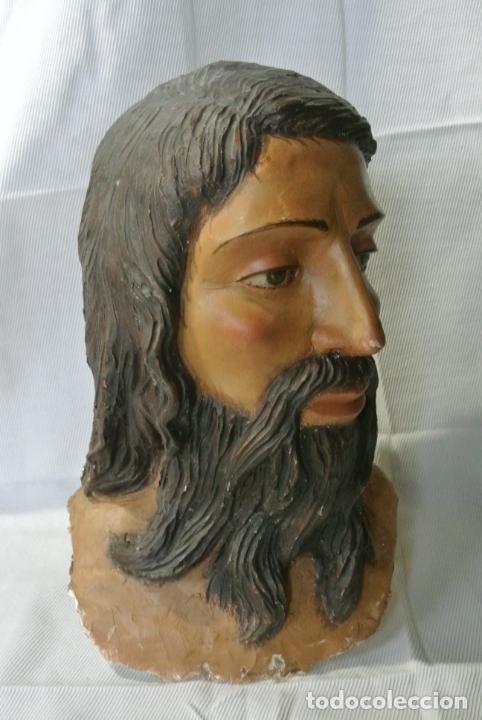 Arte: Cabeza, busto de imagen religiosa para paso de Semana Santa. San Juan Evangelista - Foto 14 - 218703163
