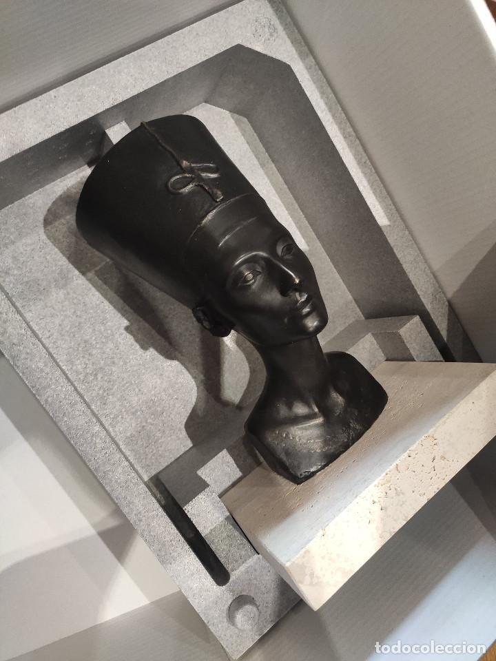 Arte: Nefertiti SKEL Escultura en bronce 310/998 MEMFIS Impecable en embalaje original - Foto 2 - 218901238