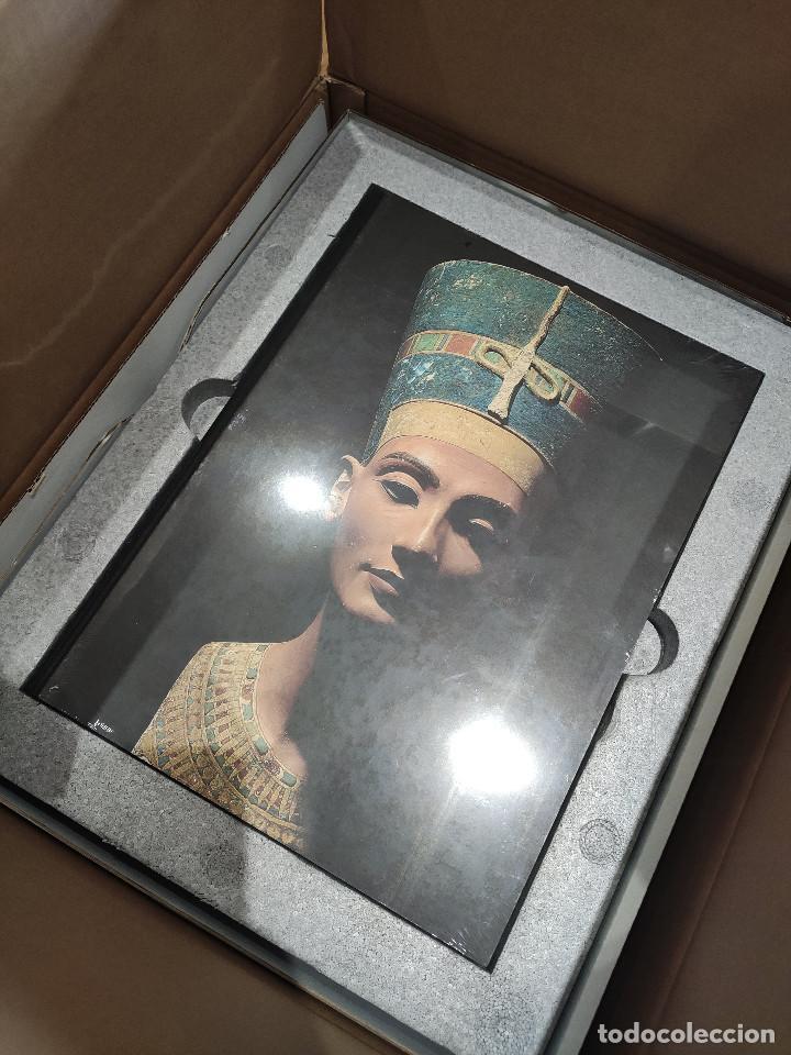 Arte: Nefertiti SKEL Escultura en bronce 310/998 MEMFIS Impecable en embalaje original - Foto 8 - 218901238