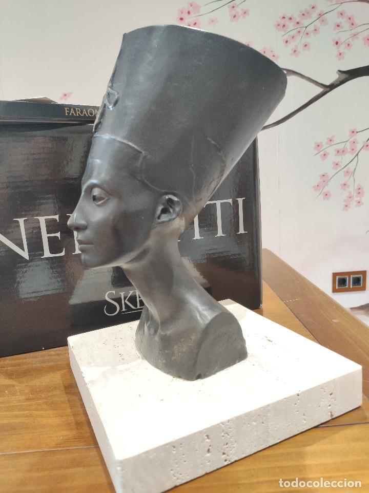 Arte: Nefertiti SKEL Escultura en bronce 310/998 MEMFIS Impecable en embalaje original - Foto 17 - 218901238