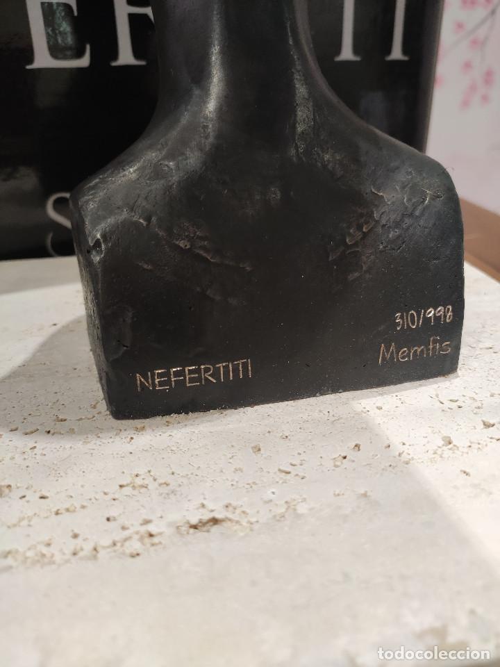 Arte: Nefertiti SKEL Escultura en bronce 310/998 MEMFIS Impecable en embalaje original - Foto 20 - 218901238